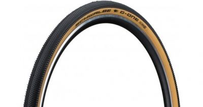 Pneu Schwalbe G-One All Round 700 x 38C V-Guard TS Noir/Beige