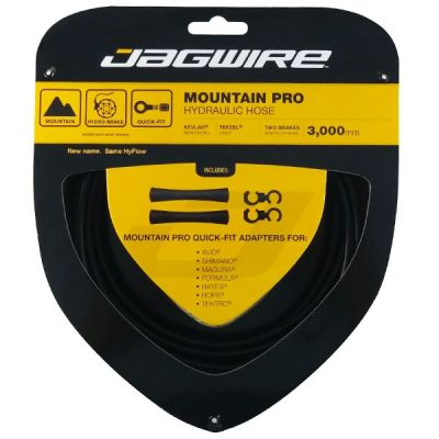 Kit durite hydraulique Jagwire Mountain Pro - Noir