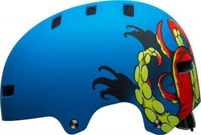 Casque Bell SPAN Bleu Mat Force Octobeast