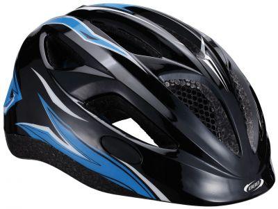 Casque Hero BBB (flash) racing (noir/bleu) - BHE-48