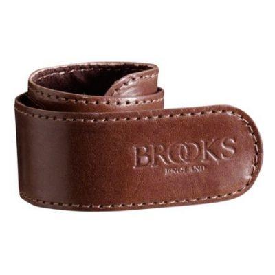 Serre-pantalon Brooks cuir Marron antique (à l'unité)