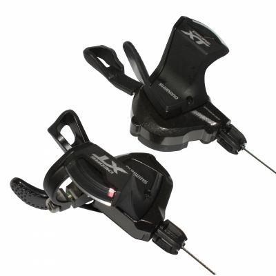 Manette de vitesses Shimano XT M8000 2/3x11V (Paire) Noir