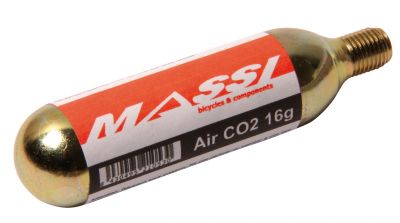 Cartouches CO2 Massi 2x 16 g Avec filetage