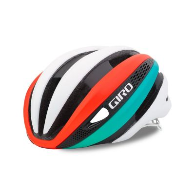 Casque Giro SYNTHE Blanc/Turquoise/Rouge