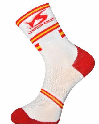 Chaussettes Ventura Socks Carbone Nation Espagne