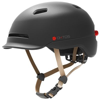 Casque Oktos Lux Gris
