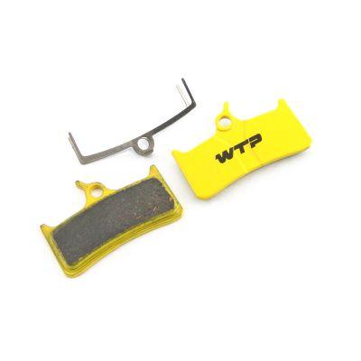 Plaquettes de frein vélo WTP compatibles Hope Mono M4 / Shimano XT / Grimeca / SRAM Organiques