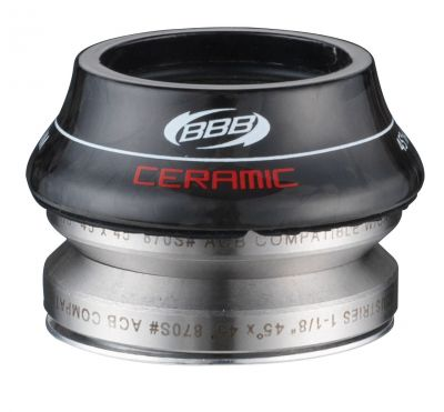 Jeu de direction BBB Ceramic 41.8 mm cone carbone 15 mm - BHP-47