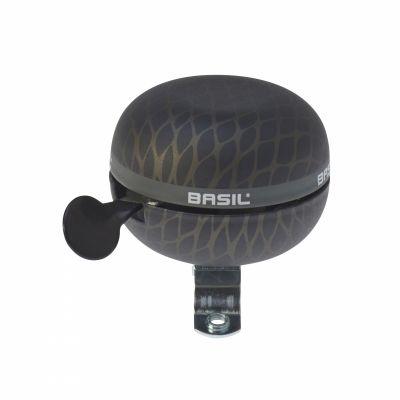 Sonnette Timbre BASIL Ø 60 mm Noir Noir Metal