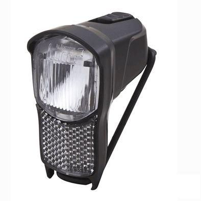 Éclairage AV Spanninga Illico 2 4 LUX LED Sur cintre À piles Noir
