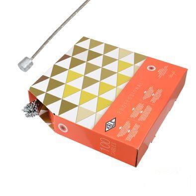 Câble de dérailleur Transfil K.ble Inox Type Campa 1,90 m (Boîte de 100)