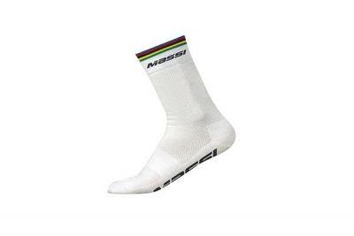 Chaussettes Massi World Champion Blanc