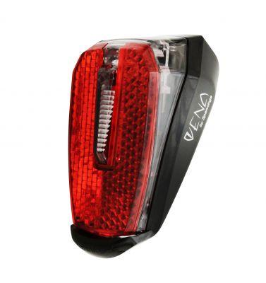 Éclairage AR Spanninga Vena Xe 1 LED Fix. sur garde-boue VAE Noir