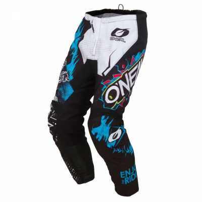 Pantalon MX O'Neal Element enfant Villain Blanc