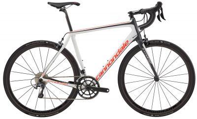 Vélo route Cannondale Synapse Hi-MOD Ultegra 2017 Blanc/Rouge/Noir