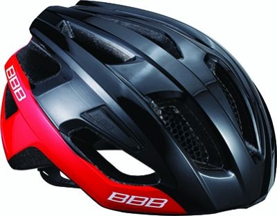 Casque BBB Kite Noir brillant/Rouge - BHE-29