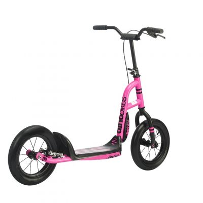Trottinette Dino Bikes Urban Cross 12'' à frein Rose
