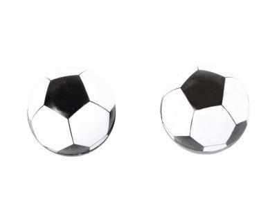 Bouchons de valves SB3 Ballon de Foot Blanc