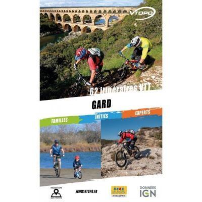 VTOPO guide VTT Gard - Édition 2018-2020