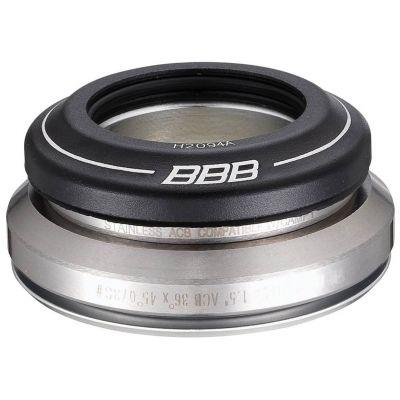 """Jeu de direction BBB conique 1.1/8-1.5"""" 41.8-51.8 mm 45°x45° - BHP-46"""