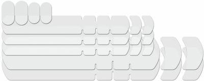Kit de protections de cadre Lizard Skins Frame Kit Transparent