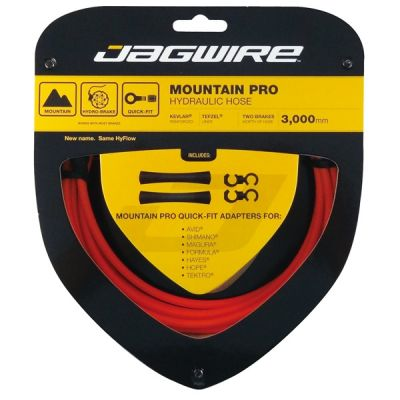 Kit durite hydraulique Jagwire Mountain Pro - Orange
