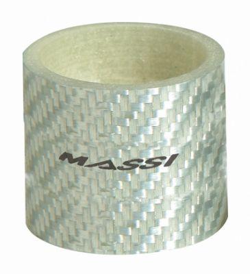 """Entretoise de direction Massi Silver Carbon 30 mm 1.1/8"""""""