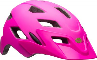 Casque junior Bell SIDETRACK YOUTH Rose mat/Lime