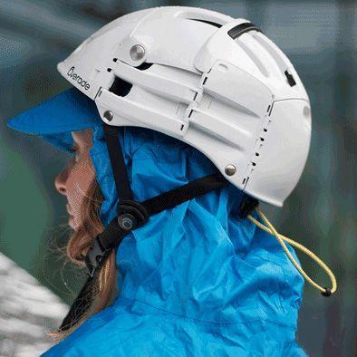 Poncho de protection pluie SPAD De Ville Fulap Bleu