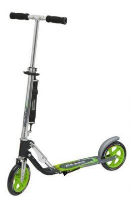 """Trottinette Hudora Big Wheel Hudora Alu 8"""" Argent/Noir/Vert"""