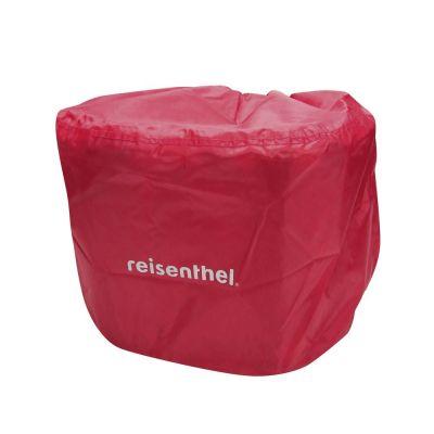 Protection de pluie KLICKfix pour panier avant BikeBasket Rouge