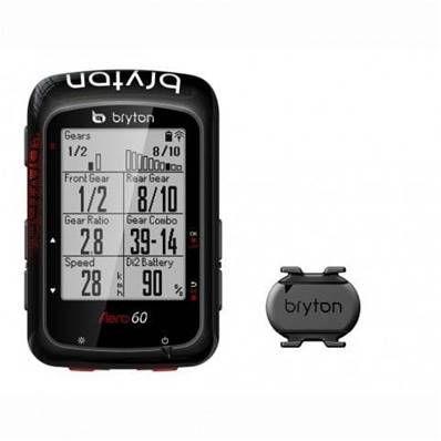 GPS Bryton Rider Aero 60 C (Cadence)