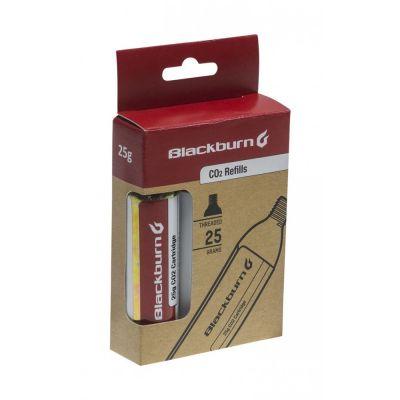 Lot de 3 cartouches CO2 Blackburn 25 g CO2 Pack Cartridges