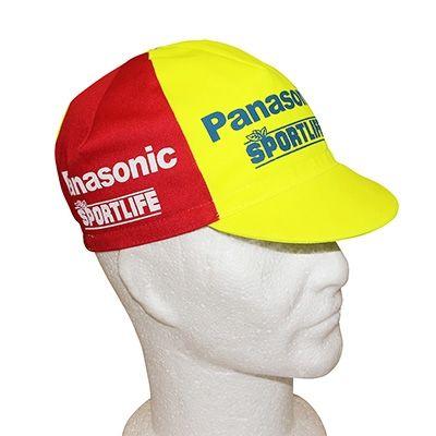 Casquette Equipe Vintage Panasonic Sportlife Rouge/Jaune