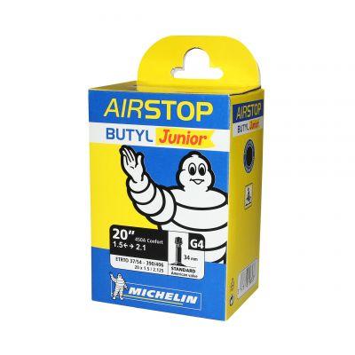 Chambre à air Michelin 18/20 x 1.50/2.125 450A G4 Schrader 34 mm