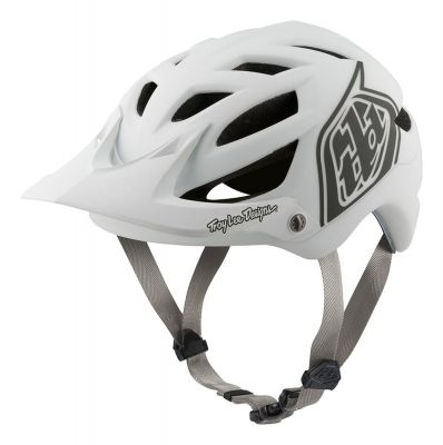 Casque Troy Lee Designs A1 MIPS Classic Blanc