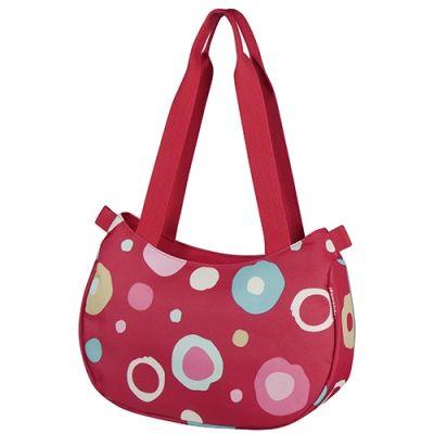 Sac à main KLICKfix Stylebag 2 L + support de guidon Funky Dots 2