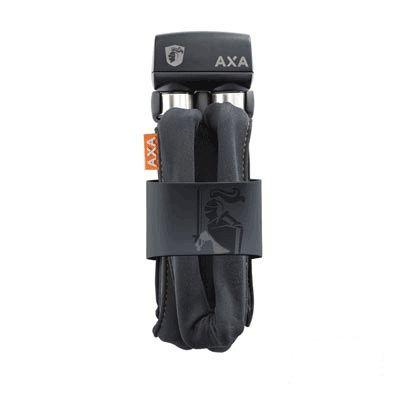 Antivol pliable AXA Foldable 600 à clé 95 cm avec support Gris