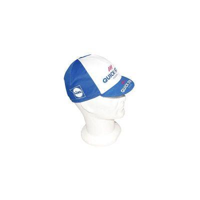Casquette Equipe Pro Etixx Quickstep LIDL Blanc/Bleu