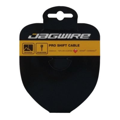 Câble de dérailleur Jagwire Pro-Slick acier inox poli 1.1x2300 mm comp. SRAM/Shimano
