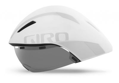 Casque Giro AEROHEAD MIPS Blanc mat/Argent