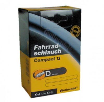 Chambre à air Continental Compact 12 1/2 x 1.75/2.1/4 valve Dunlop 40 mm