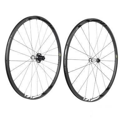 Roues FIR R25 Carbone à pneu Campagnolo 11V Noir (La paire)