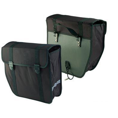 Sacoche vélo Optimiz porte-bagages Pliante 40 L Noir
