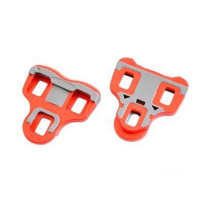 Cales de pédales automatiques ATOO comp. Look Keo liberté 6° Rouge