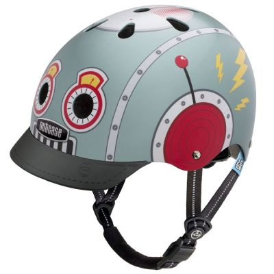 Casque enfant Nutcase Little Nutty Tin Robot