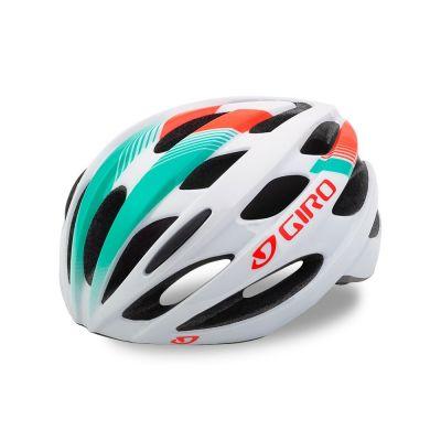 Casque Giro TRINITY Blanc/Turquoise/Rouge