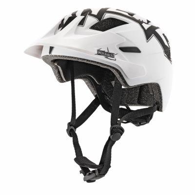 Casque VTT O'Neal Rooky enfant Helmet Stixx Noir/Blanc