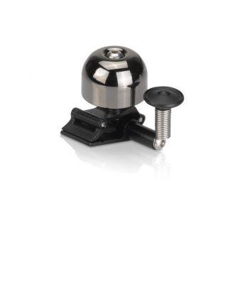 Mini sonnette XLC DD-M11 Fix. à clip Cuivre Argent foncé