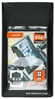 Housse smartphone SKS Smartboy avec support de cintre Noir
